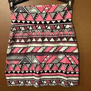 VS PINK Stretch Bodycon Mini Skirt
